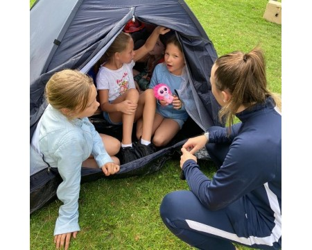 Flore kiest voor nog een sportief Escape Bootcamp kinderfeestje volgende week!